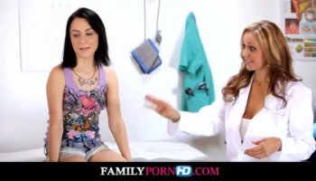 Brazilian nurse gives a prostate exam to the inked hunk
